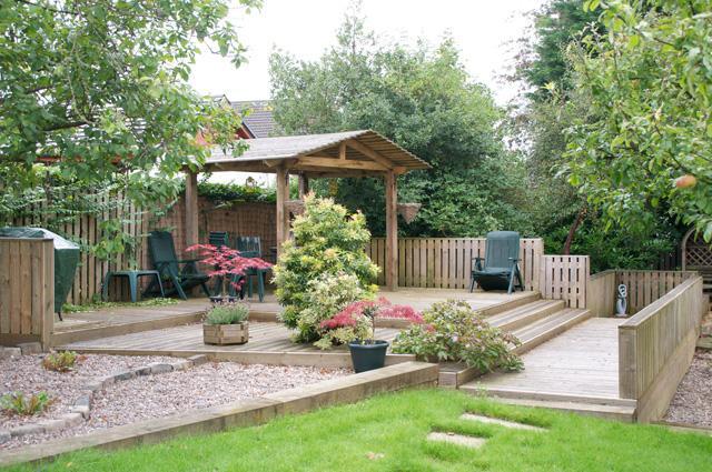 дизайн двора частного дома своими руками 1