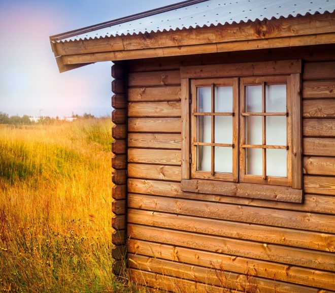 Verschil tussen blokhut en houten schuur