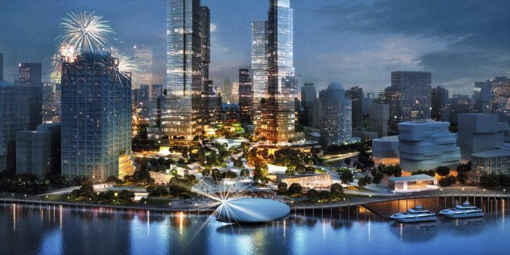 Multi level skypark