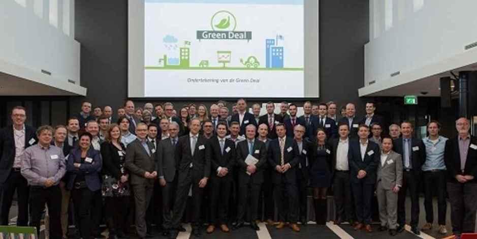 Green Deal Circulaire Gebouwen 60 organisatie hebben getekend