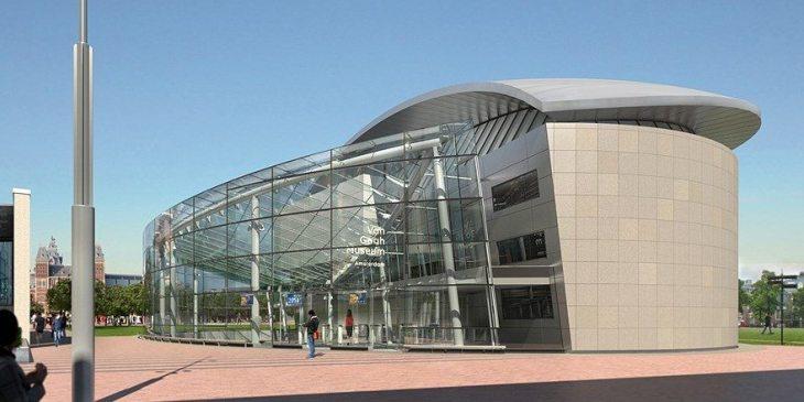 Opening nieuwe entree Van Gogh museum