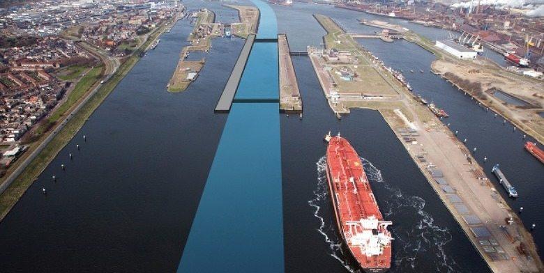 Bouw grootste zeesluis ter wereld van start