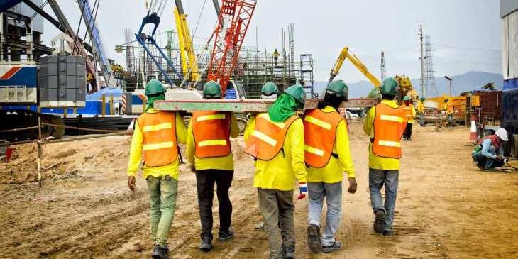 Veel onvrijwillige flexwerkers in de bouw
