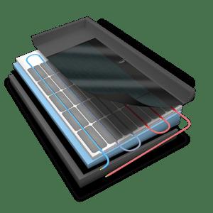 Warmte- koude opvang inclusief stroom Werking van het systeem