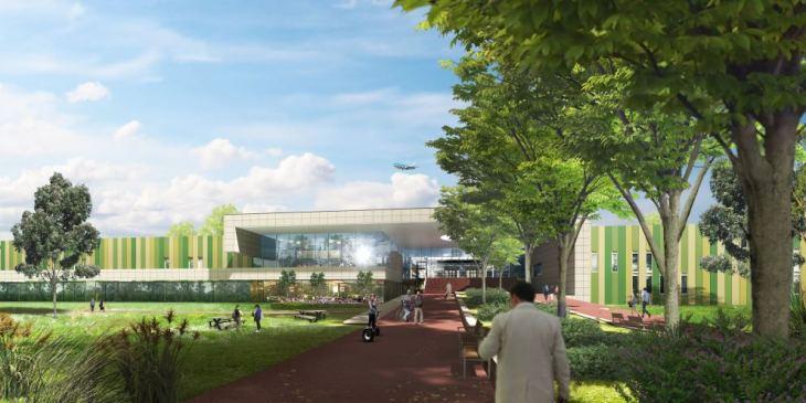 De Brainport campus wordt een innovatieve campus voor de internationale hightech maakindustrie. Onder anderen KMWE heeft al bekend gemaakt in 2017 naar het te terrein te willen verhuizen