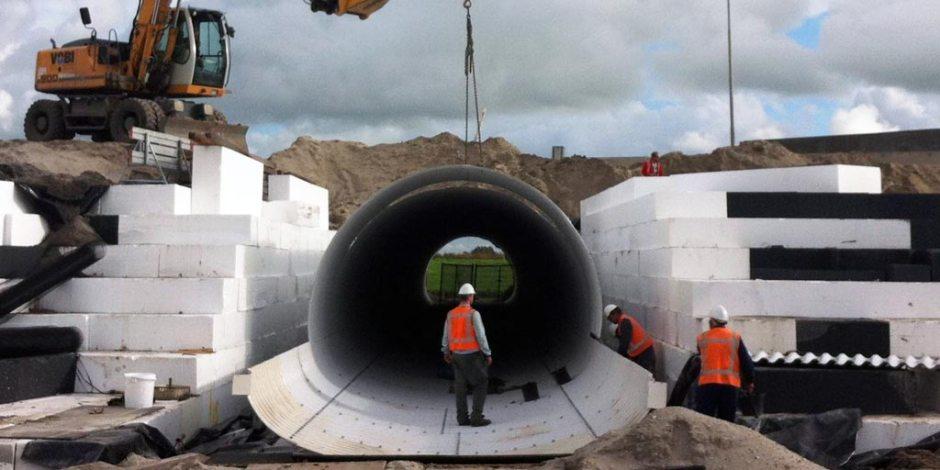 Zettingsvrije tunnels zonder paalfundering