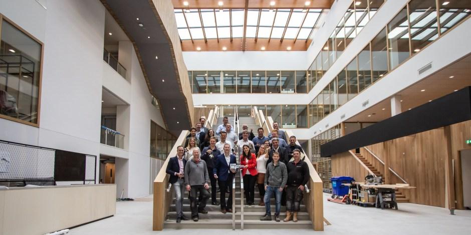 Meest duurzame multifunctionele gebouw ter wereld in Wageningen