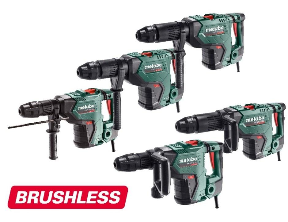 Metabo SDS-max hamers met Brushless-technologie 2