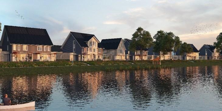 Mix van architectuurstijlen en groenvoorzieningen in Rosmalen