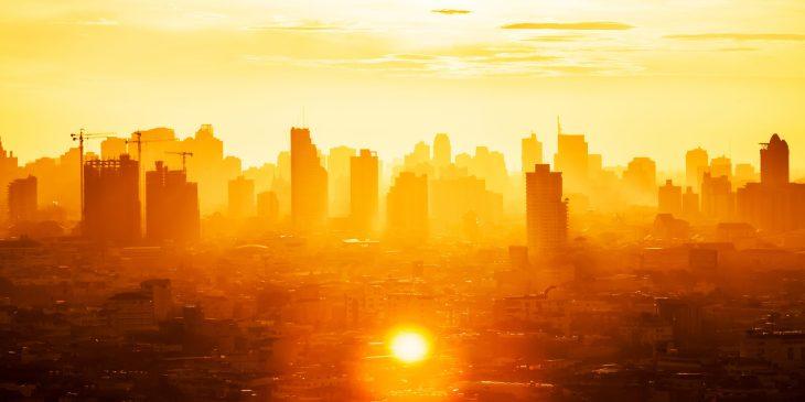 Gevoelstemperatuur in landelijke hittekaart online