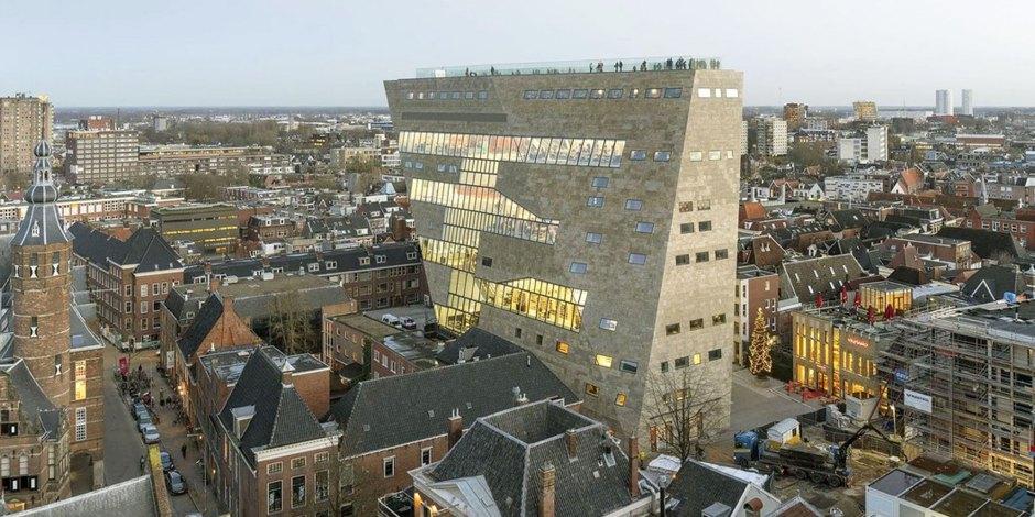 Forum Groningen winnaar BNA Beste Gebouw 2020 Beeld: BNA