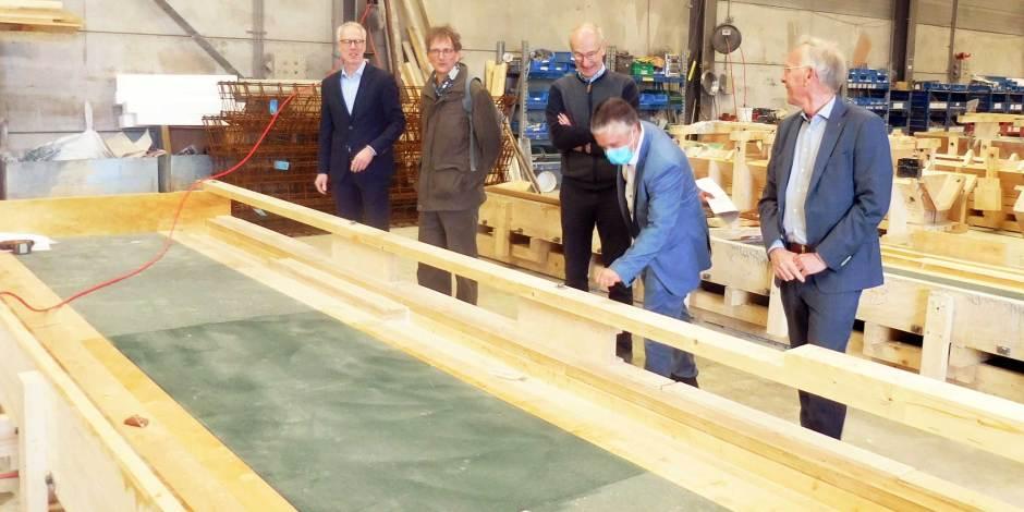 Betonindustrie herbruikt hout uit bekistingsmallen