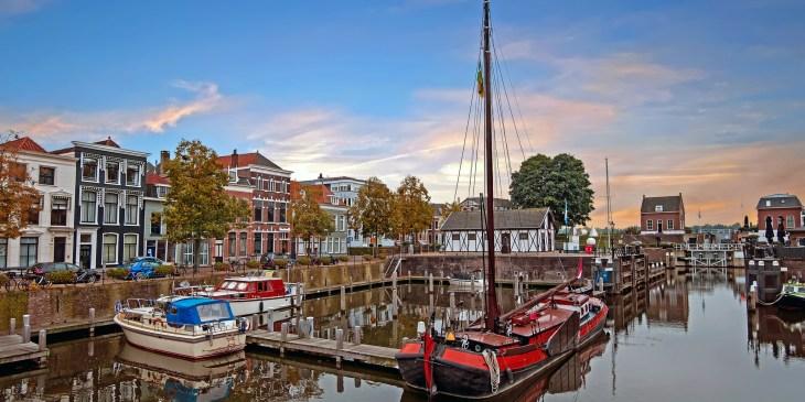 Gorinchem mag zich de allermooiste vestingstad van Nederland noemen