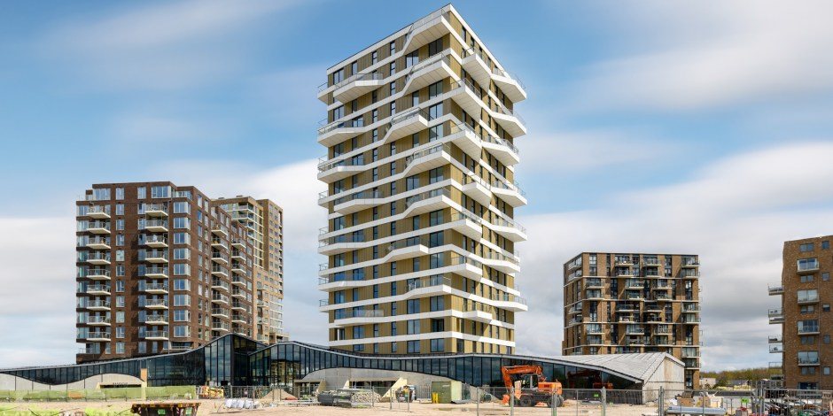 Project - woontoren Valencia in Almere Duin