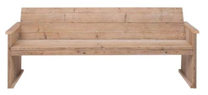 steigerhouten bank maken