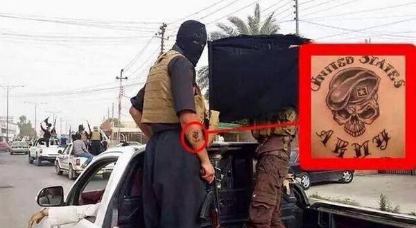 isis us army
