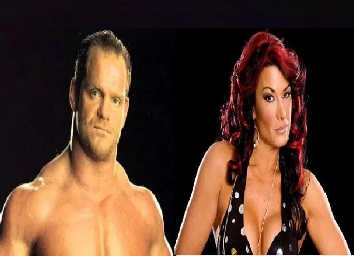 Chris Benoit and Victoria