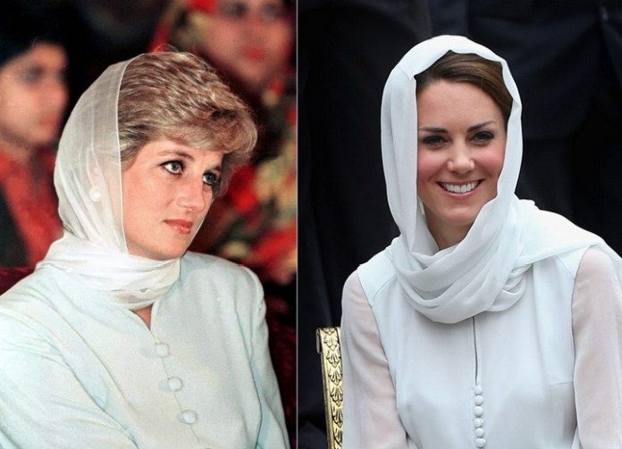 Kate Middleton watched videos of Diana before joining royal family
