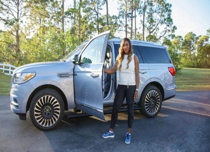 Serena Williams Loves her Lincoln Navigator