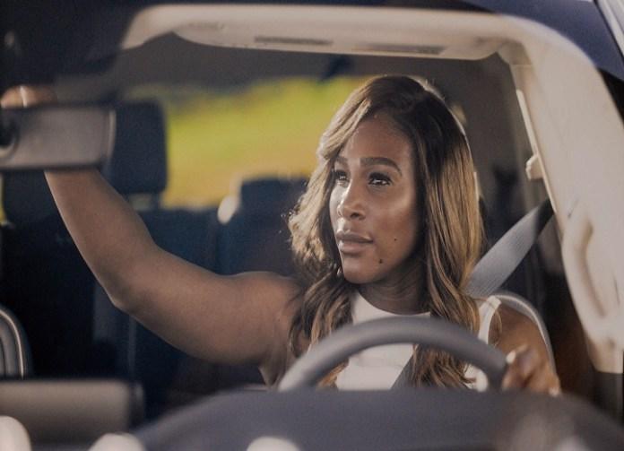 Serena Williams driving