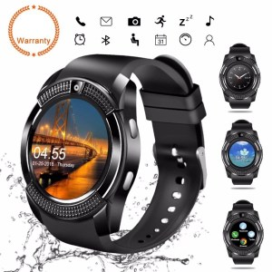 V8 Smart Watch Black