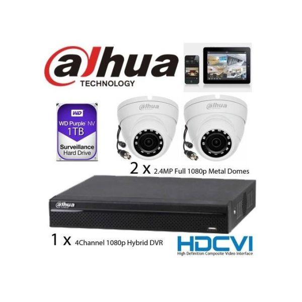 Dahua CCTV 4 Camera Bovic