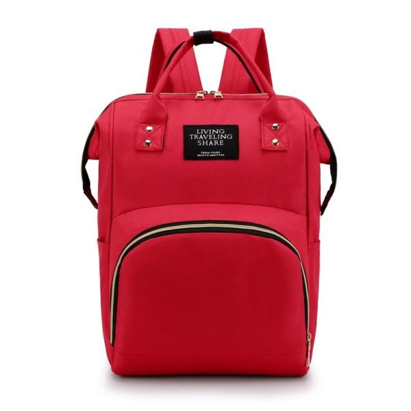 Mum Diaper Bag Red