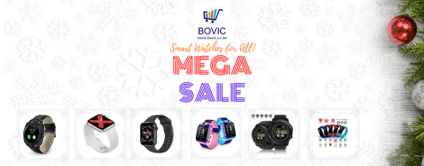 Banner Smart Watches Bovic