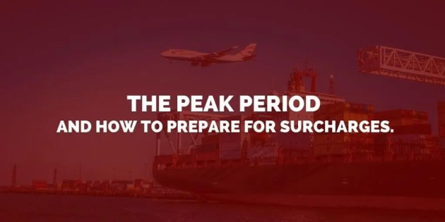 impact of peak seasons in Shipping