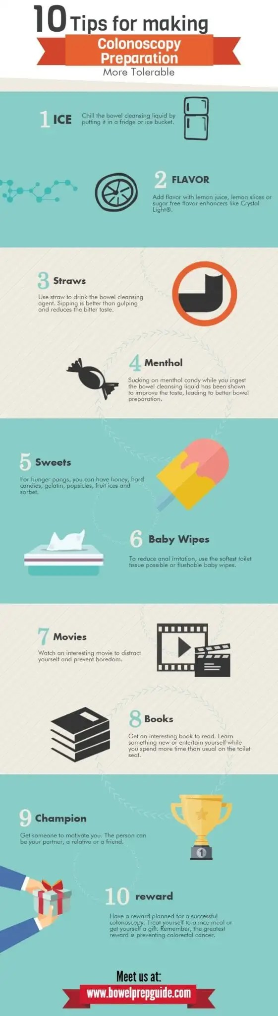 10 tips to make colonoscopy preparation more tolerable 2