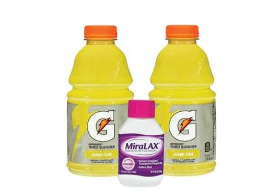 how to use miralax and gatorade