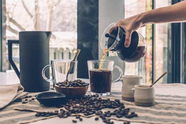 is coffee a clear liquid diet