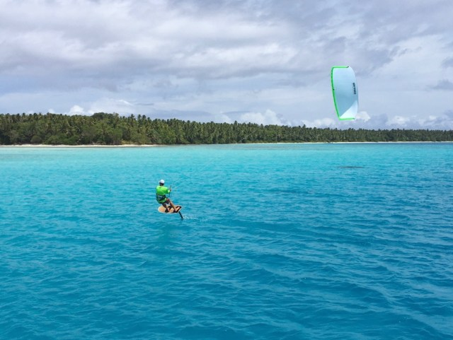 Foiling in Pohnpei