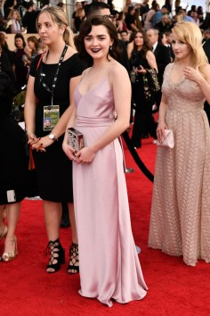 Mandatory Credit: Photo by Rob Latour/REX/Shutterstock (8137126dh) Maisie Williams The 23rd Annual Screen Actors Guild Awards, Arrivals, Los Angeles, USA - 29 Jan 2017