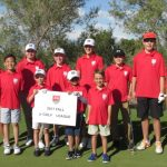 Junior Golf Academy 2017 red league group photo