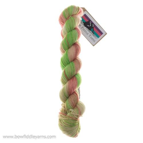 Bow Fiddle Yarns Superwash Merino - Apple of my Eye - 4ply yarn