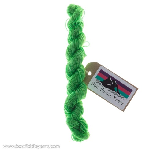 20g Skein of bright green yarn