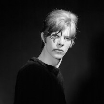English singer, songwriter and actor David Bowie stands for a photoshoot with photographer Gerald Fearnley circa 1967.