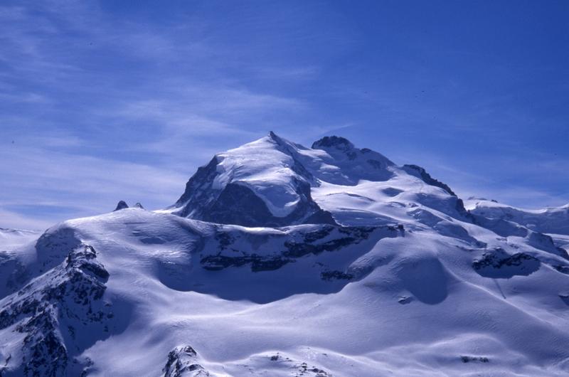 Glacier above Stockhorn-Zermatt