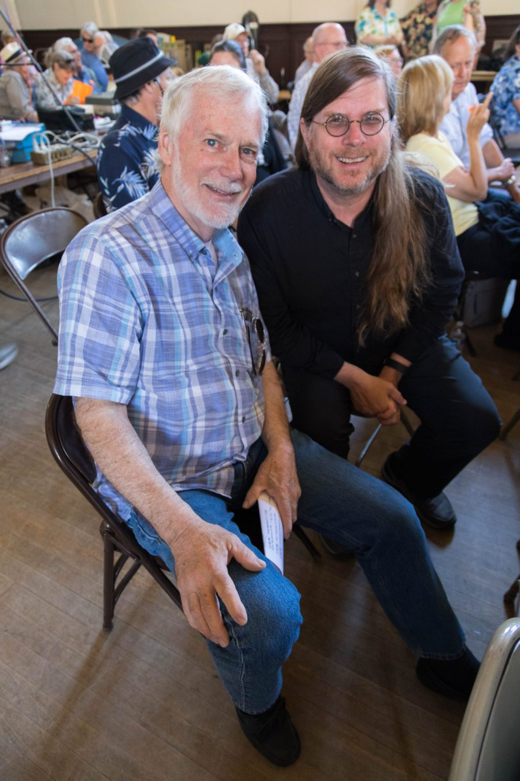 Bill Brooks and Tim pozar