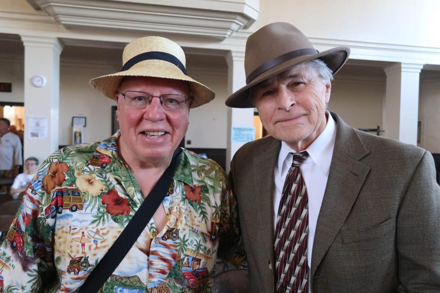 Alan Bowker and Sam Van Zandt