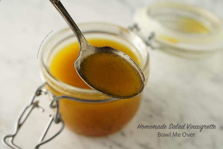 Have you ever made your own homemade vinaigrette?