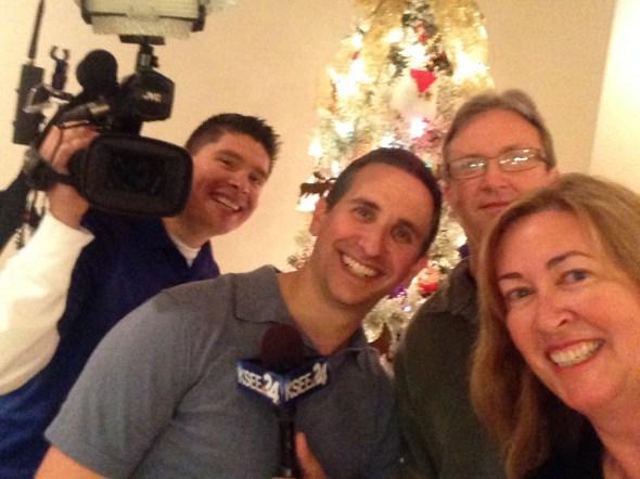 Matt, George, Dan & I