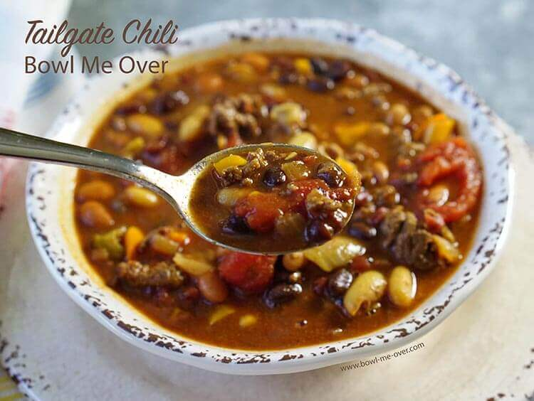 This chili has a sweet/spicy combo that is dynamite!