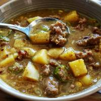 Sausage and Okra Stew Recipe