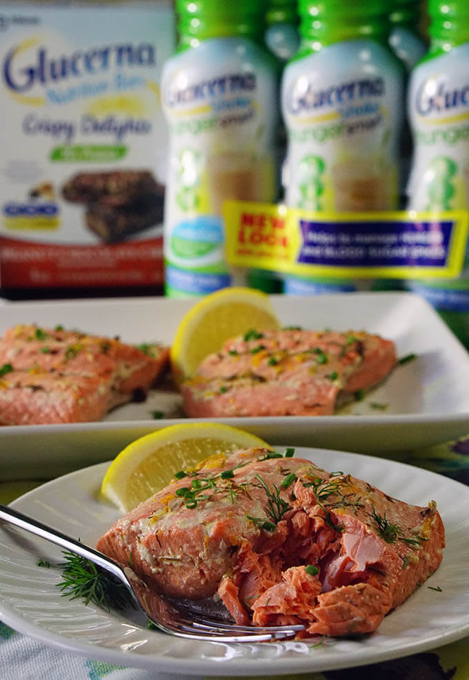 Easy Citrus Poached Salmon