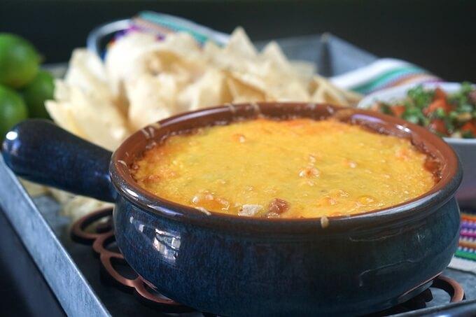Cheesy Salsa Bean Dip