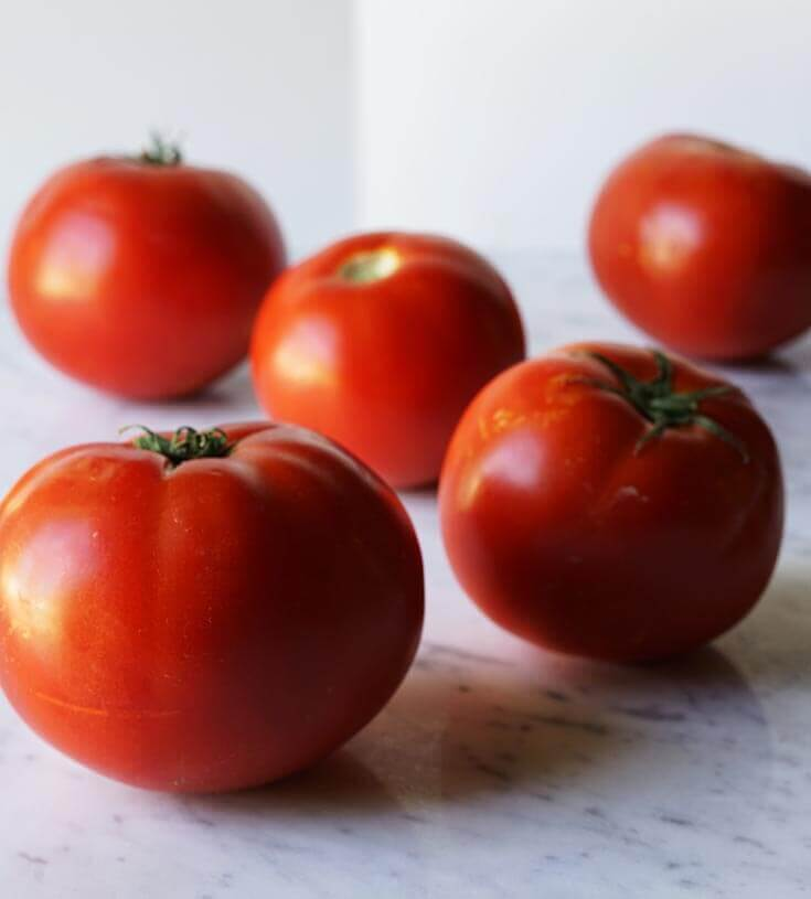 Local homegrown tomatoes!