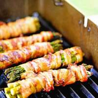 How to grill Bacon Wrapped Asparagus