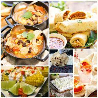 Photos for Mexican party food ideas